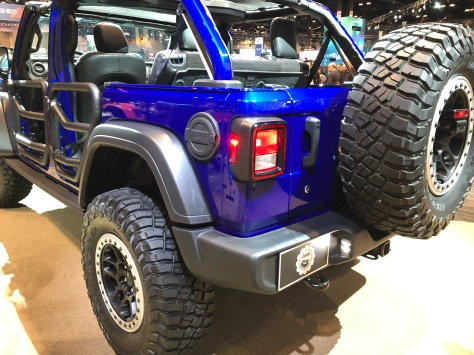 jeep wrangler special edition, jeep wrangler jpp20, mopar accessories, 2020 chicago auto show