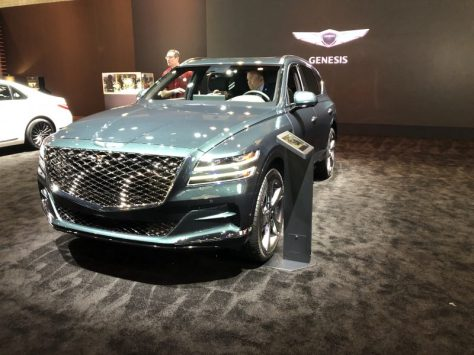 2021 Genesis GV80, luxury suvs,