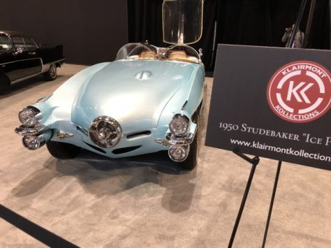 custom cars, studebaker, ice princes, klairmont kollection