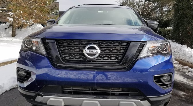 2020 Nissan Pathfinder SV (Rock Creek Edition)