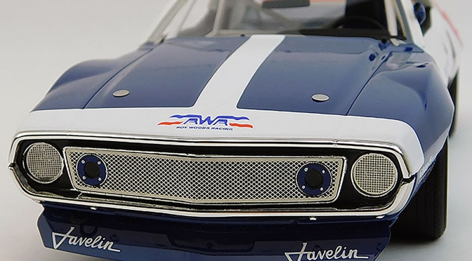 Die-cast: Replicarz 1972 Javelin Trans Am