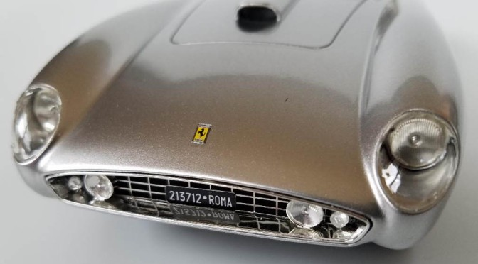 Die-cast: CMF's Ferrari 375 MM Scaglietti Coupe