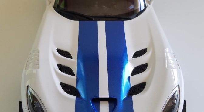 Die-cast: Autoart's 2017 Dodge Viper GTS-R ACR