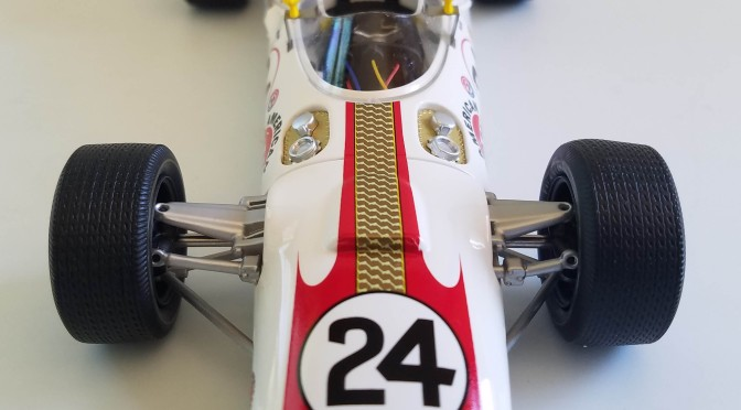 Die-cast: Replicarz's 1966 Indy 500 winning Lola T90