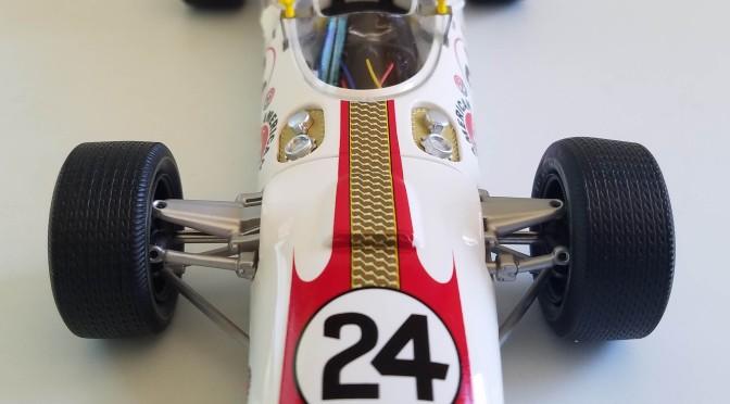 Die-cast: Replicarz's 1966 Indy 500 winning Lola T90