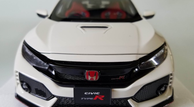 Die-cast: Autoart Honda Civic Type R