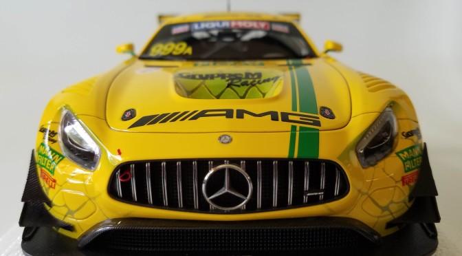 Die-cast: Autoart's 2019 Mercedes AMG GT3