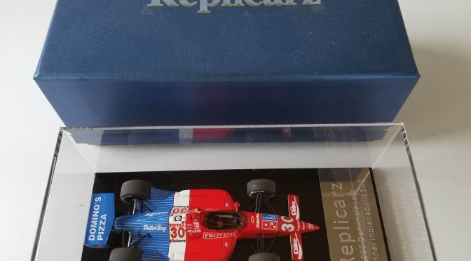 Die-cast: Replicarz's 1990 Indy 500 winner (Luyendyk)
