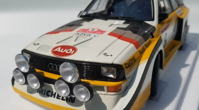 Die-cast: Autoart's Audi Sport quattro S1, 1986 Rally Monte Carlo