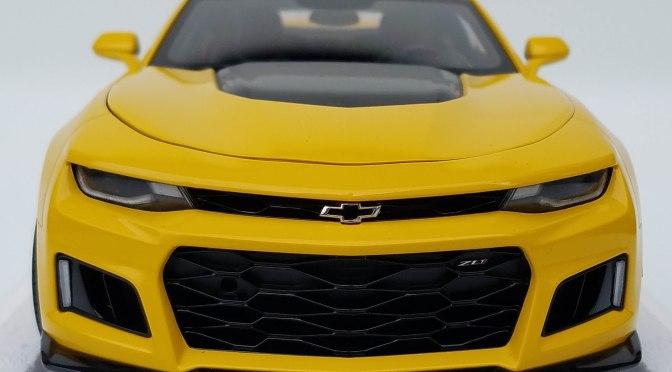 Die-cast: Autoart 2017 Chevy Camaro ZL1