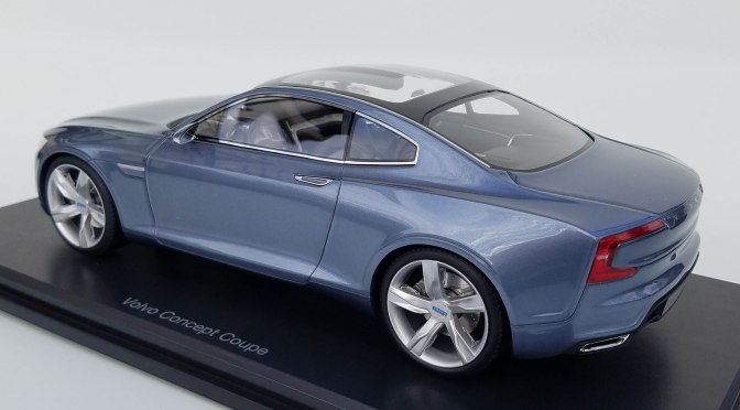 Die-cast: DNA Collectibles Volvo Concept Coupe