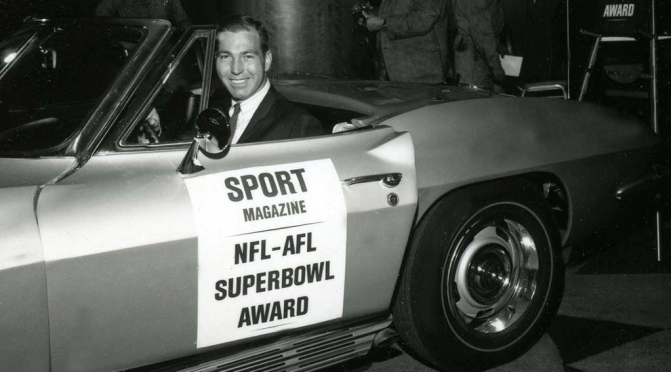 Super Bowl trivia: Who was the first MVP and what car did he win?