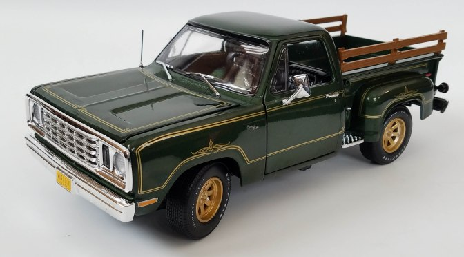 Die-cast: Auto World 1977 Dodge Warlock