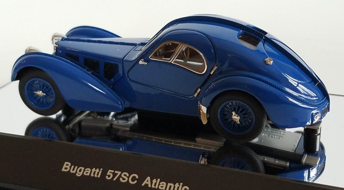 Die-cast: Autoart's 1938 Bugatti Type 57SC Atlantic
