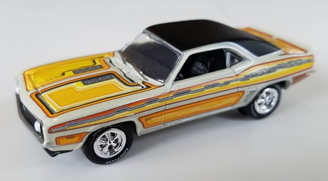 Auto World's Johnny Lightning, themed 2-packs