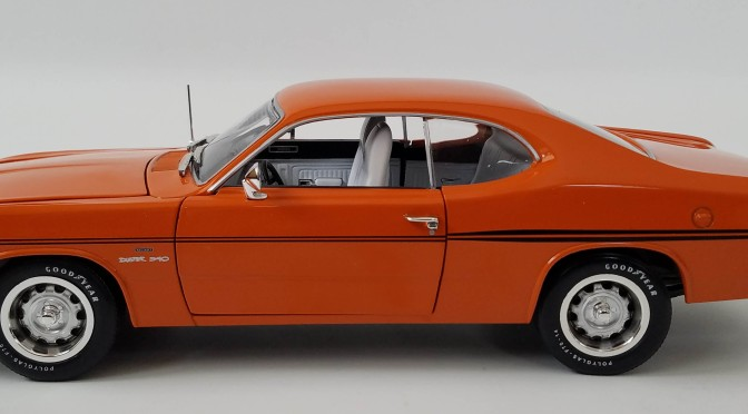 Die-cast: Auto World's 1970 Plymouth Duster 340
