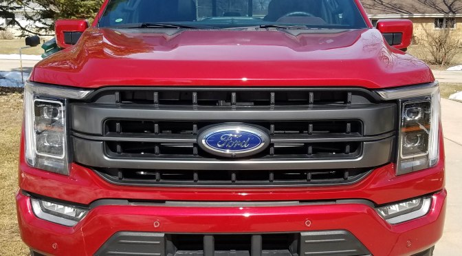 All-Electric Ford F-150 Lightning announced