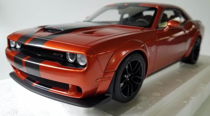 Die-Cast: Autoart's 2018 Dodge Challenger SRT HellCat widebody