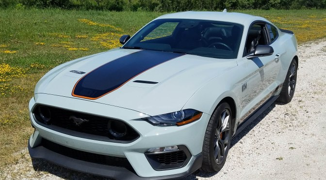 2021 Ford Mustang Mach 1 Premium