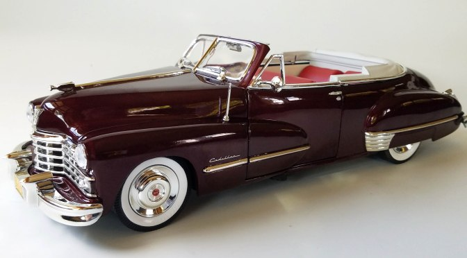 Die-cast: Auto World's 1947 Cadillac  Series 62 Convertible