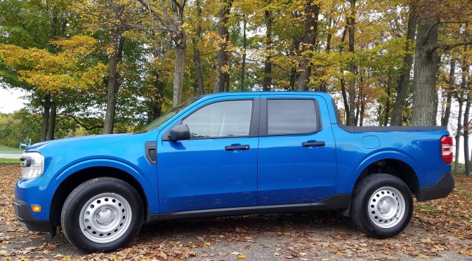 Ford's Maverick hybrid pickup earns top EPA city MPG rating
